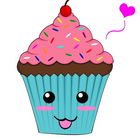 Cupcake Animated Images : Animated Cupcake Pictures - Cliparts.co