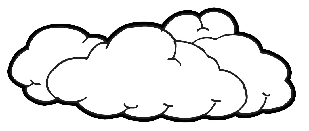 Cloud Clip Art Outline