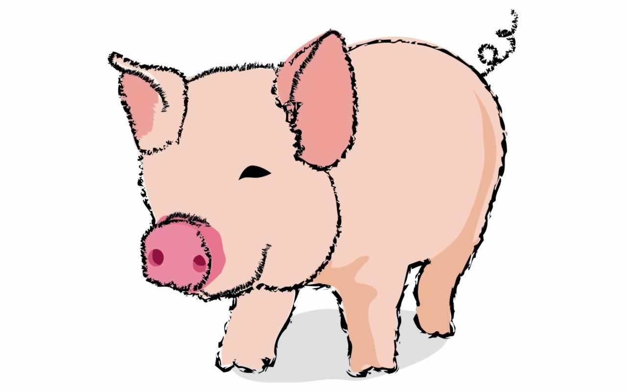 cute pigs cartoon wallpaper - photo #28