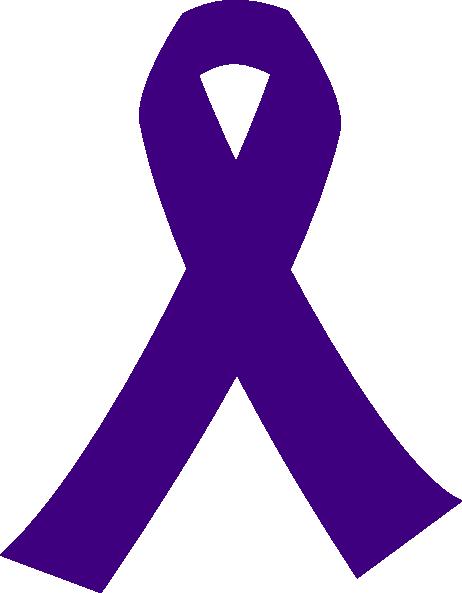 Lavender Cancer Ribbon - ClipArt Best