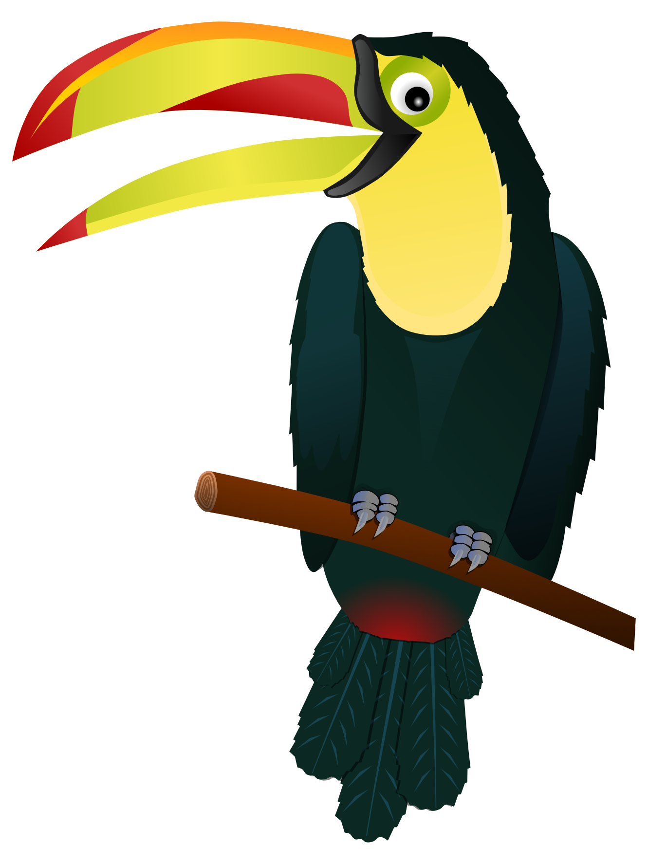 Toucan Clipart Black And White | Clipart Panda - Free Clipart Images