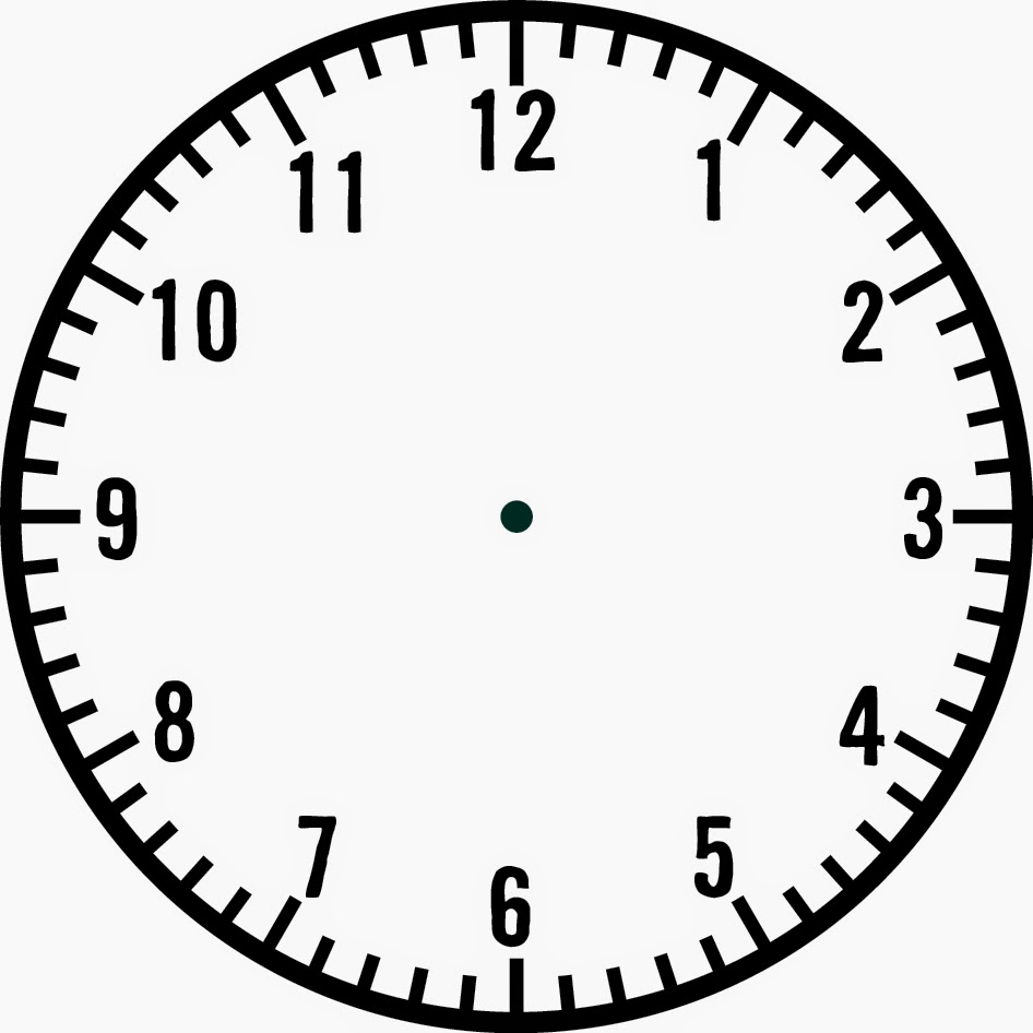 Images For > Blank Clock Template - Cliparts.co