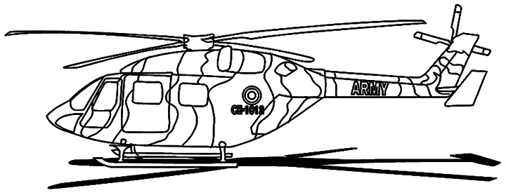 free medical helicopter coloring pages - photo#7