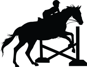 10 Jumping Horse Silhouette Frees That You Can Download To Clipart ...
