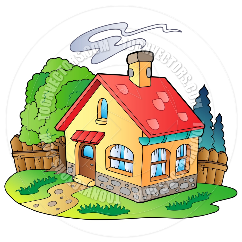 Cartoon of house for Pictures of home