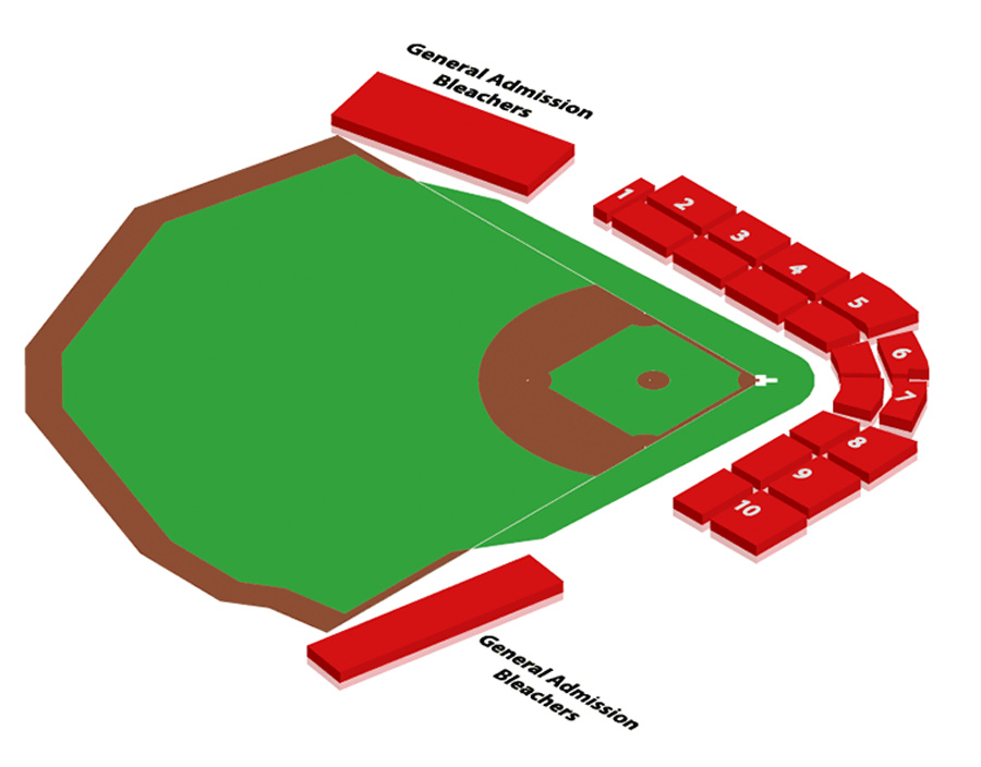 Baseball Field Diagram For Kids