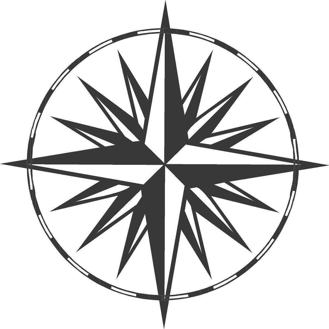 This is a photo of Agile Printable Compass Rose