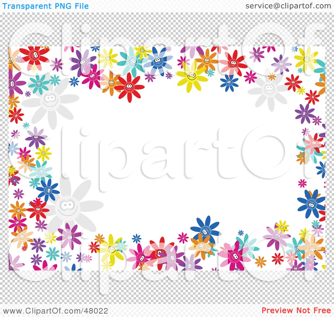 Free Flowers Clipart Borders Flowers Healthy