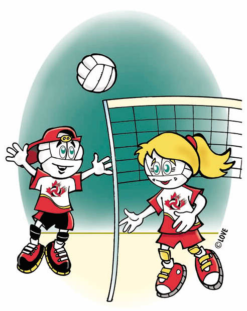 Cartoon Volleyball - Cliparts.co