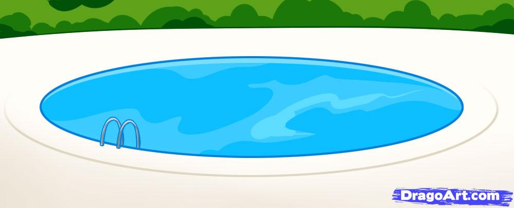 Pool Cartoon