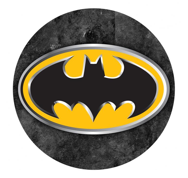 Batman Logo Stencil For Cake
