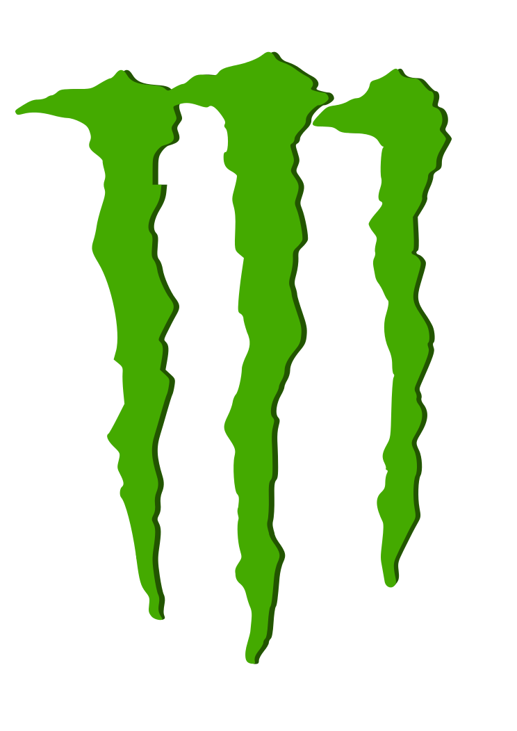 Monster Energy Logo Stencil - Cliparts.co