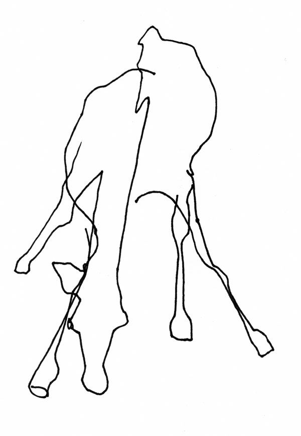 Cat Contour Line Drawing : Giraffe line art cliparts