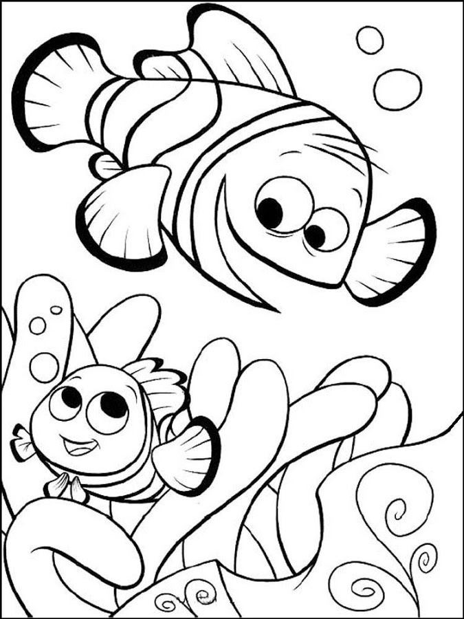 nemo coloring pages images google - photo#18