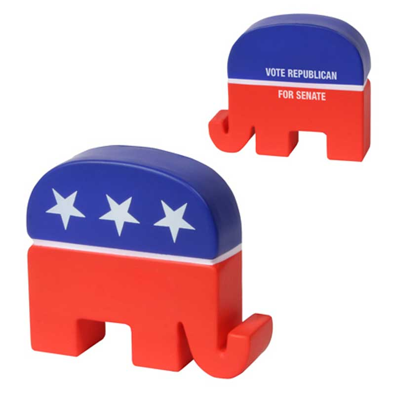 Republican Elephant Stress Ball Promotional Business | 4AllPromos