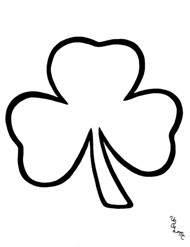 HD wallpapers shamrock coloring pages