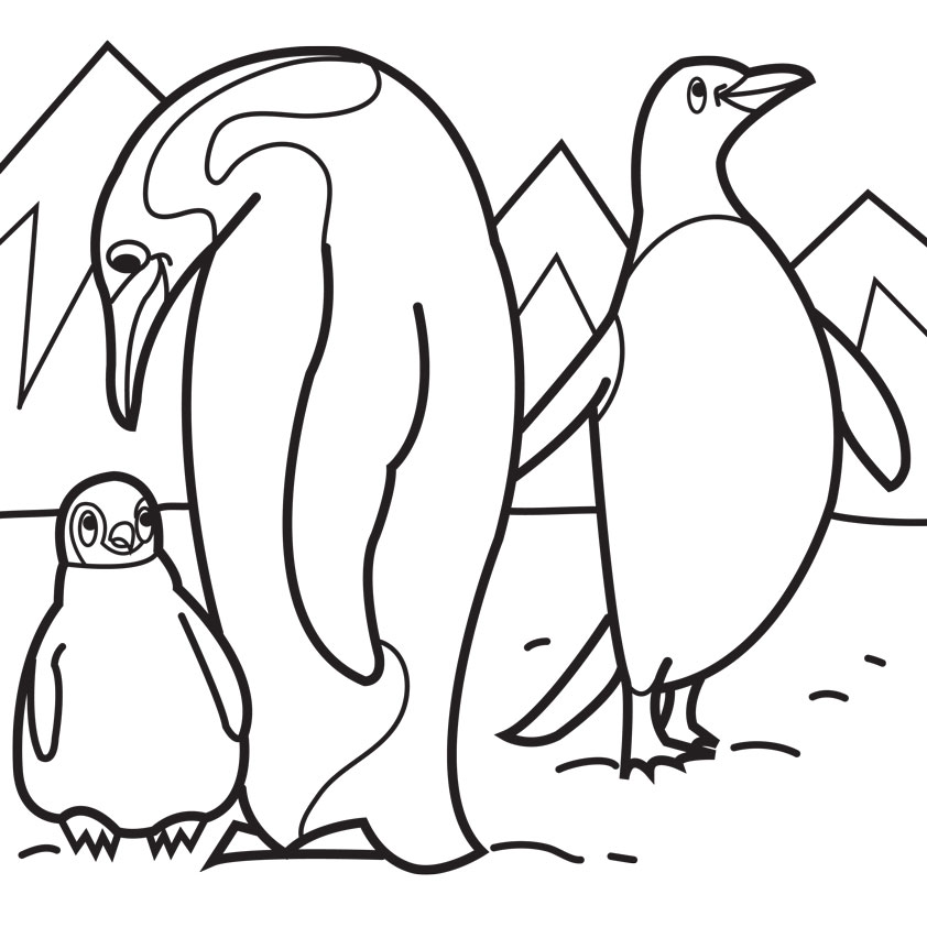 Happy Feet (09) Coloring Page - Free Miscellaneous Coloring Pages ... | 842x842