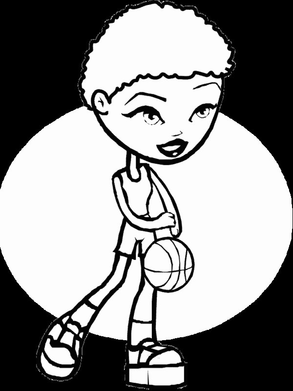 basketball with flames coloring pages - photo#36