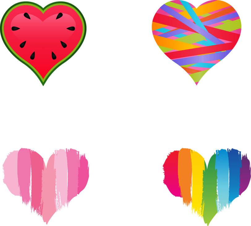 Happy Valentines Day Banner Clip Art