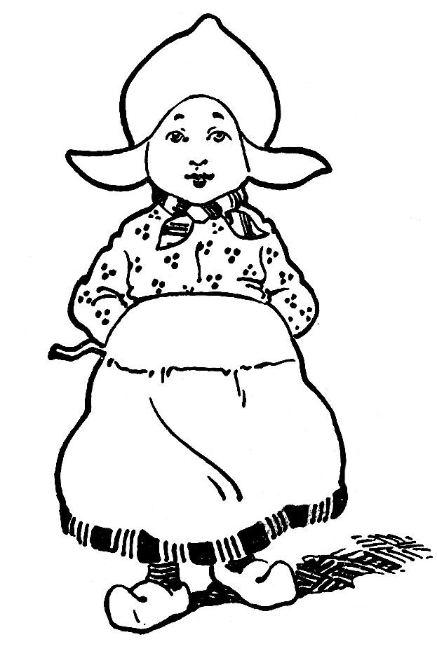 dutch children coloring pages-#28