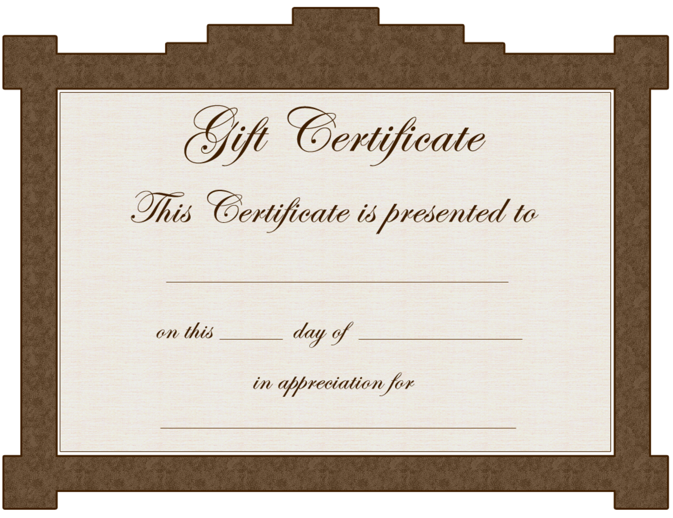 Tattoo gift certificate template for Avon gift certificates templates free