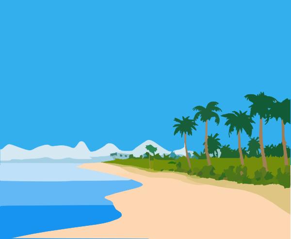 beach clipart rh worldartsme com beach clipart free black and white beach clip art images free
