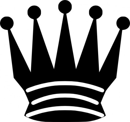 Chess Queen Crown clip art Vector clip art - Free vector for free ...