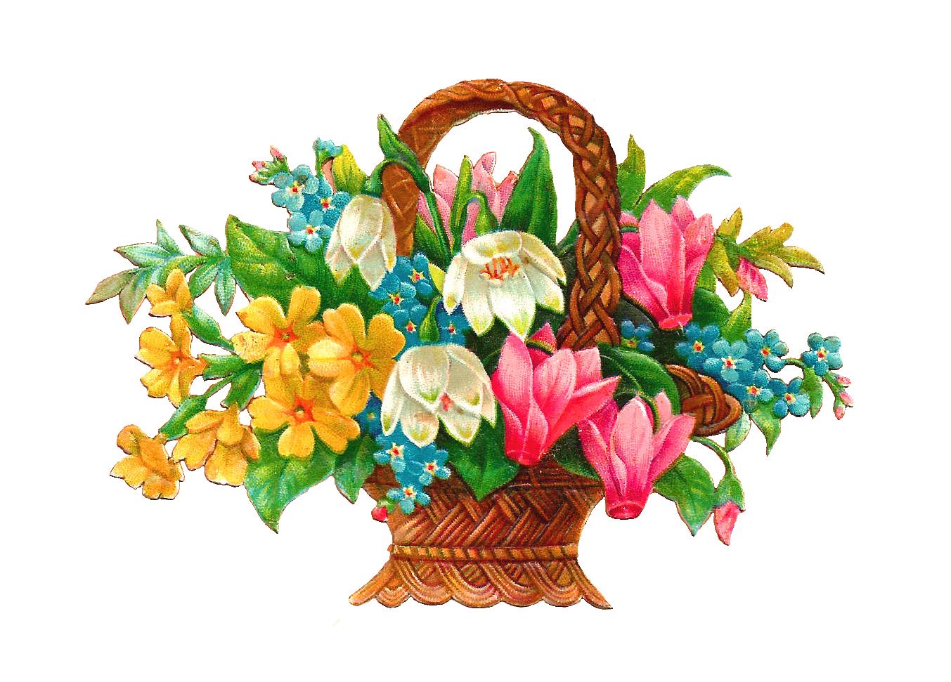 Free flowers clip art for Art flowers