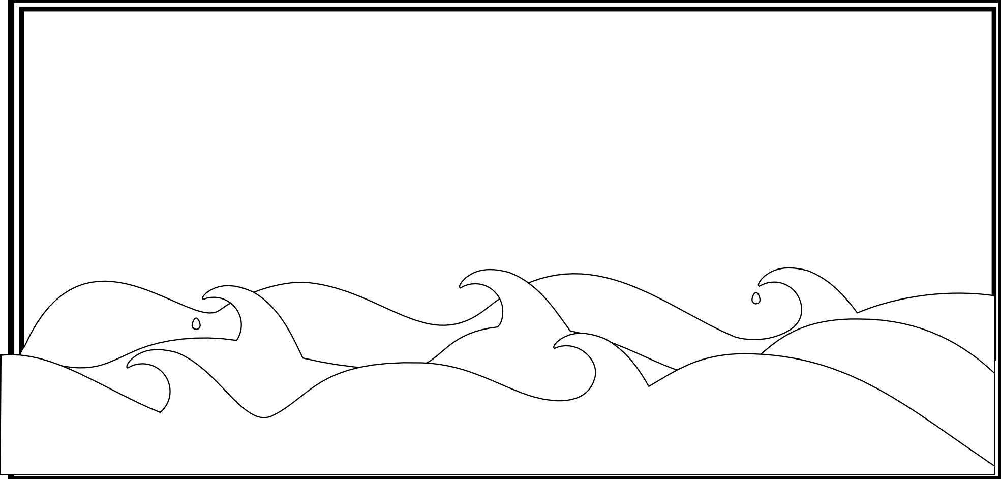 Cartoon Ocean Waves - Cliparts.co