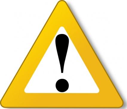 Caution Triangle Symbol - ClipArt Best