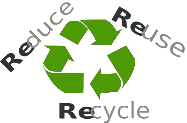 Reduce Reuse Recycle Clipart