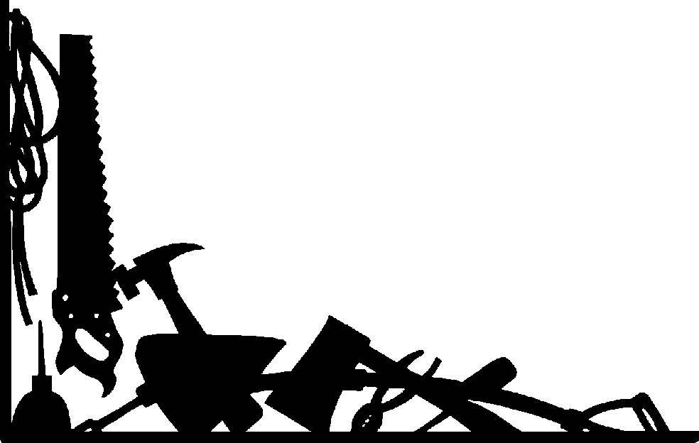 Clipart Tools Black And White