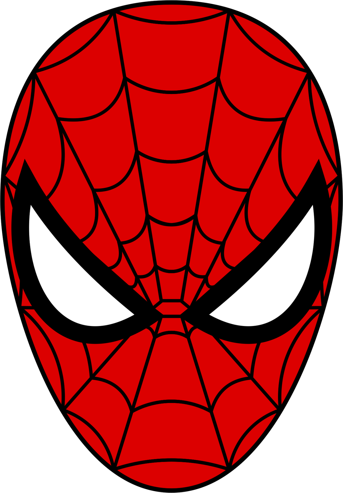 Spiderman face logo - photo#7