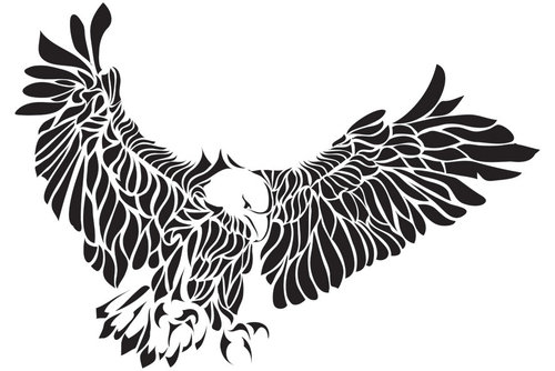 Eagle Tattoos and Designs : Page 23