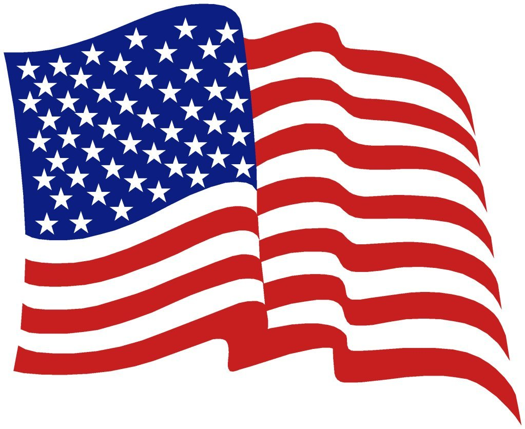 free animated clip art american flag - photo #35
