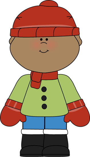 Pictures Of Winter Clothes For Kids - Cliparts.co