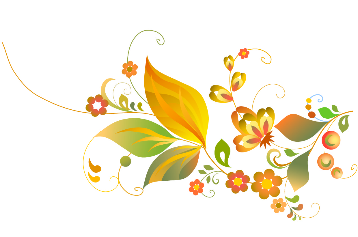 vector clipart flowers - photo #5