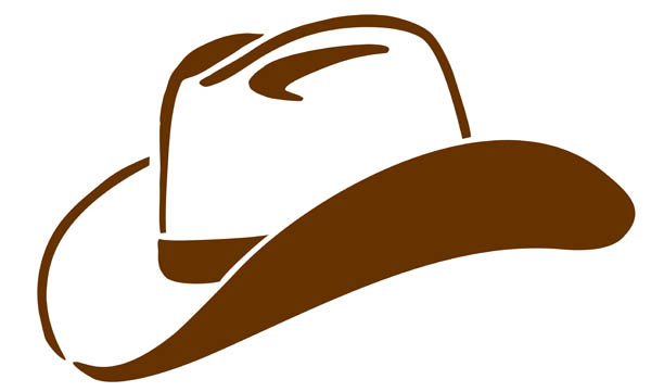 Pictures Of Cowgirl Hats - Cliparts.co