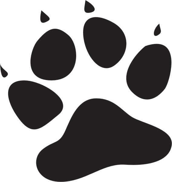 76 images of Dog Paw Print Stencil . You can use these free cliparts ...