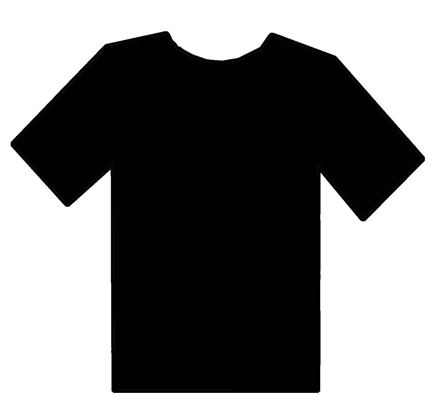 Blank T Shirts Vector Illustration Front And Back By Mr on ...