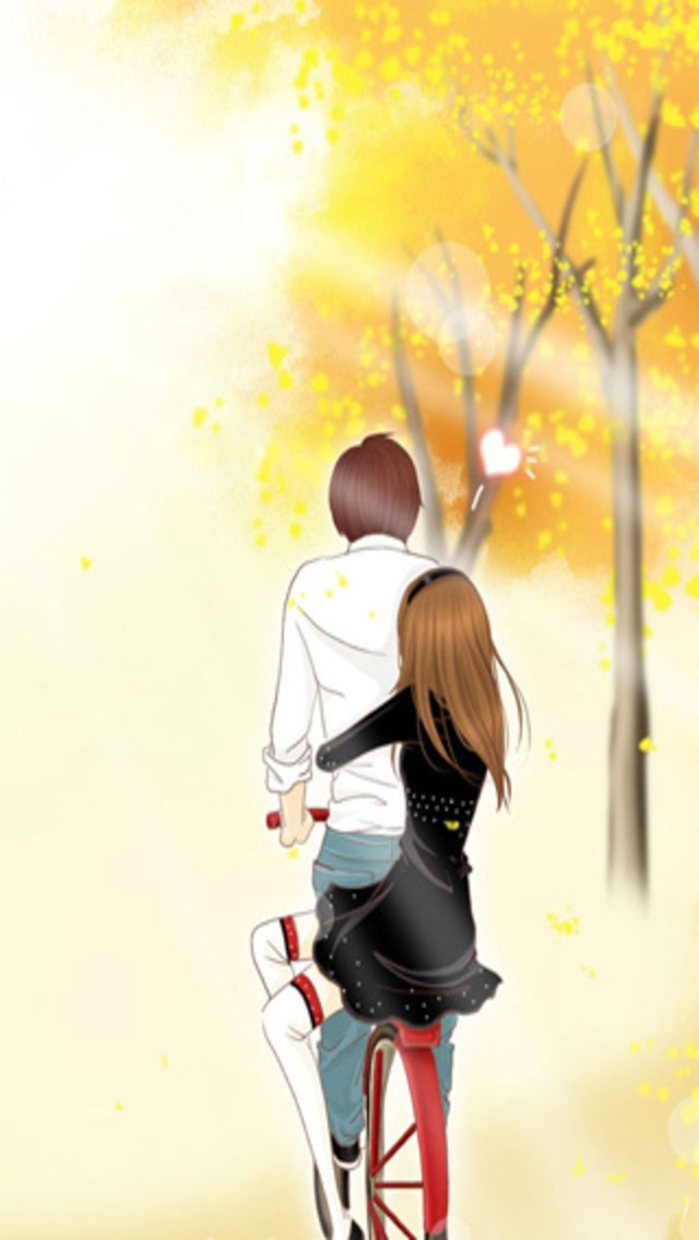 Cute Couple Wallpaper For Iphone Clipartsco