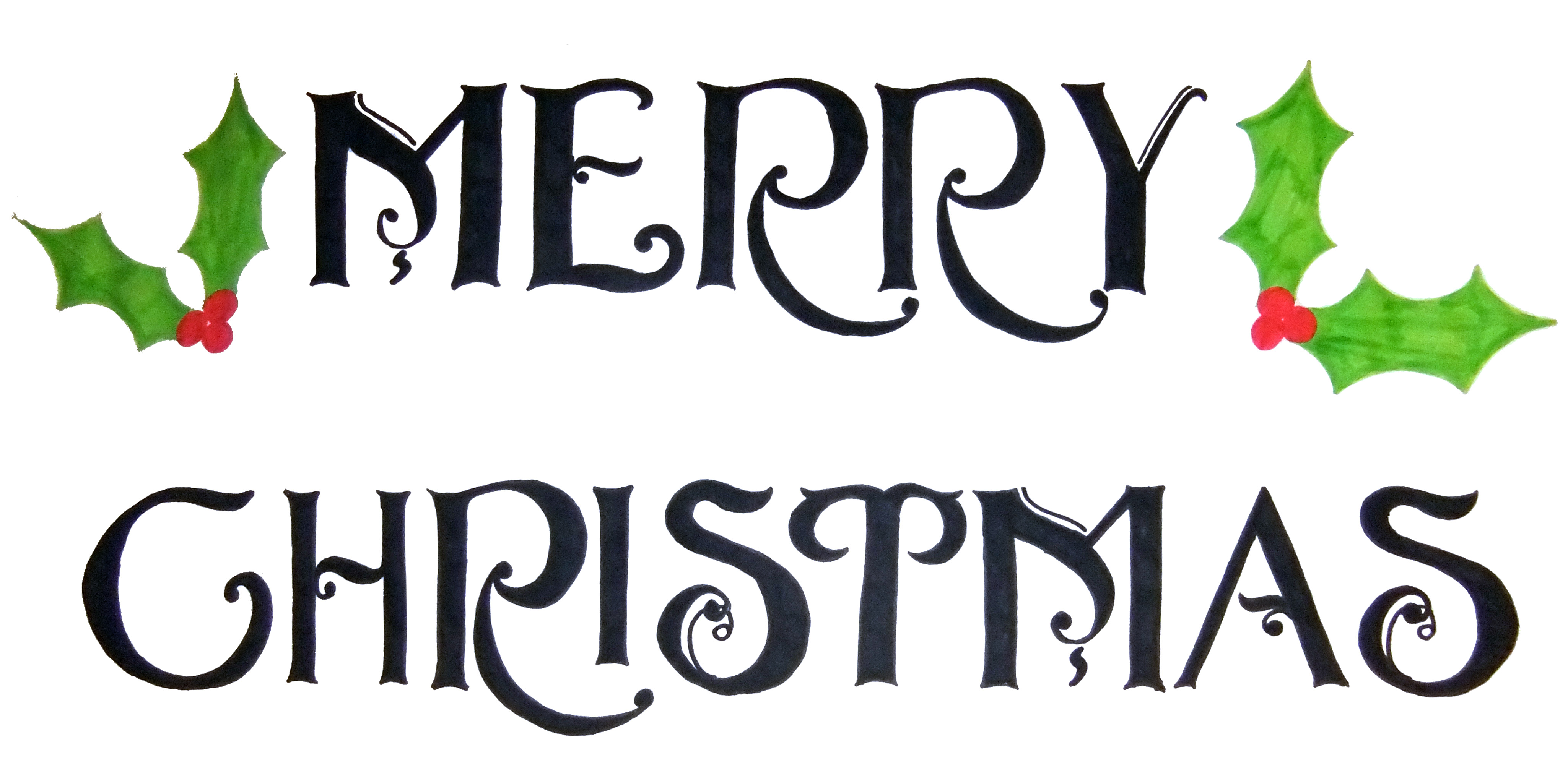 Christmas Word Art - Cliparts.co