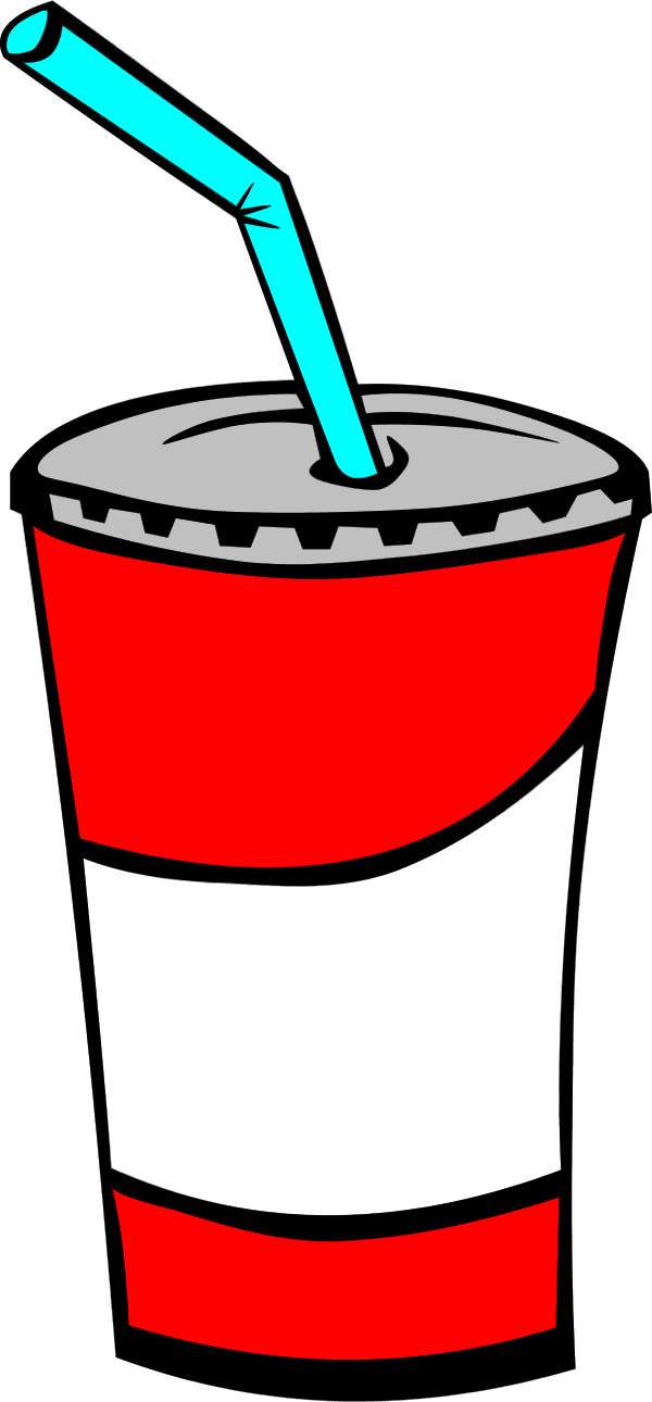 Fast Food Drinks - vector Clip Art