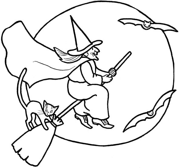 Halloween Line Drawings - ClipArt Best
