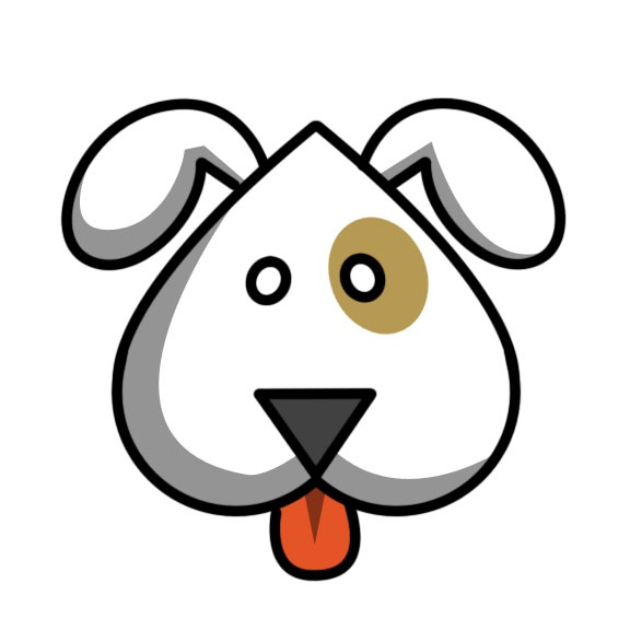 How To Draw An Easy Cute Cartoon Dog Cliparts Co
