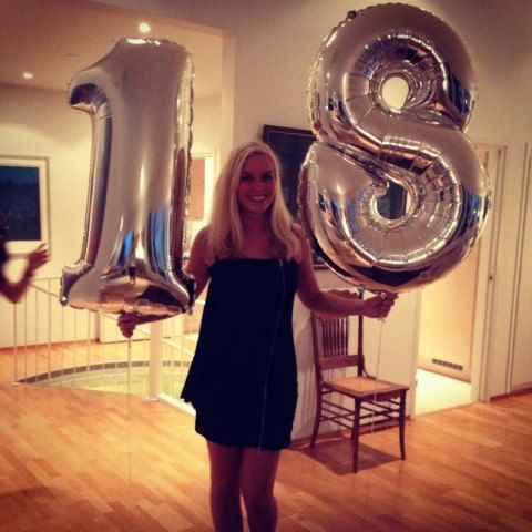 Number 18 birthday tumblr for Balloon decoration ideas for 18th birthday