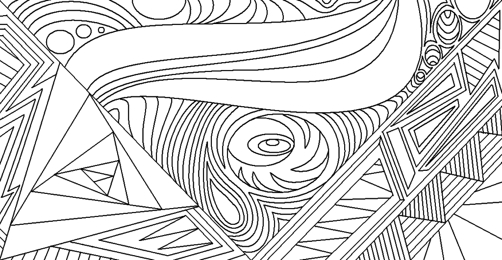 Line Designs In Art : Line art cliparts