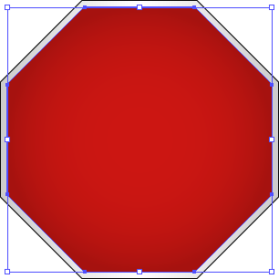 stop sign outline clipartsco