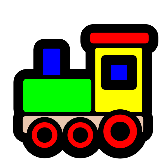 Toy Trains Clipart - ClipArt Best