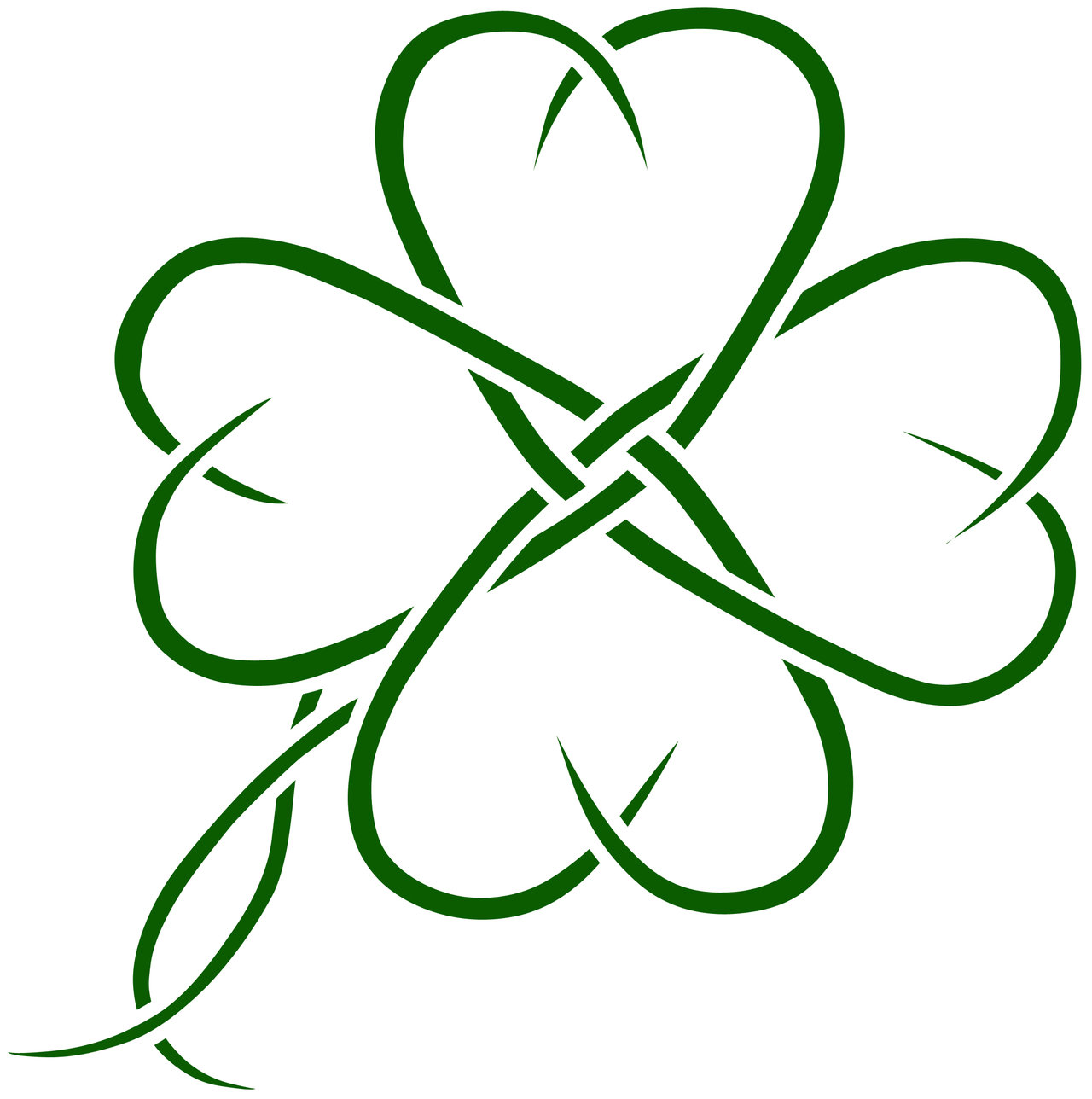 Celtic four leaf clover tatto by seanroche on deviantART